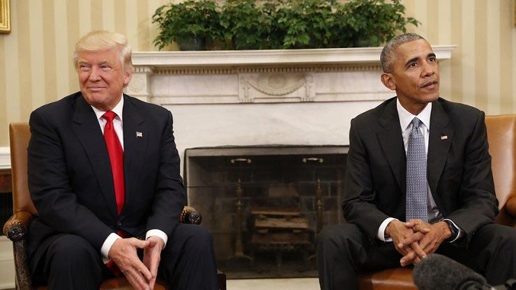 تحلیل قدرتمند زبان بدن اوباما و ترامپ در کاخ سفید